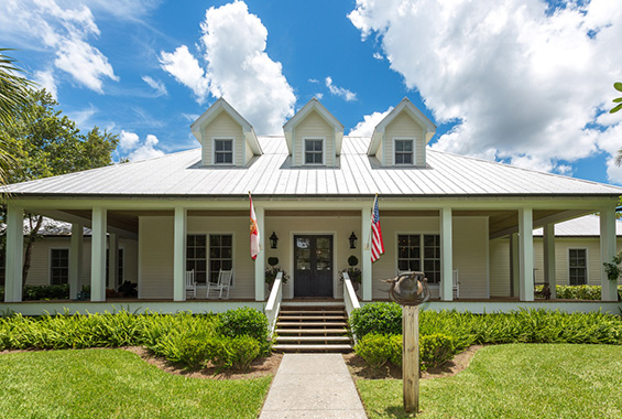 Featured property a country story in myakka river trail for Florida cracker style homes