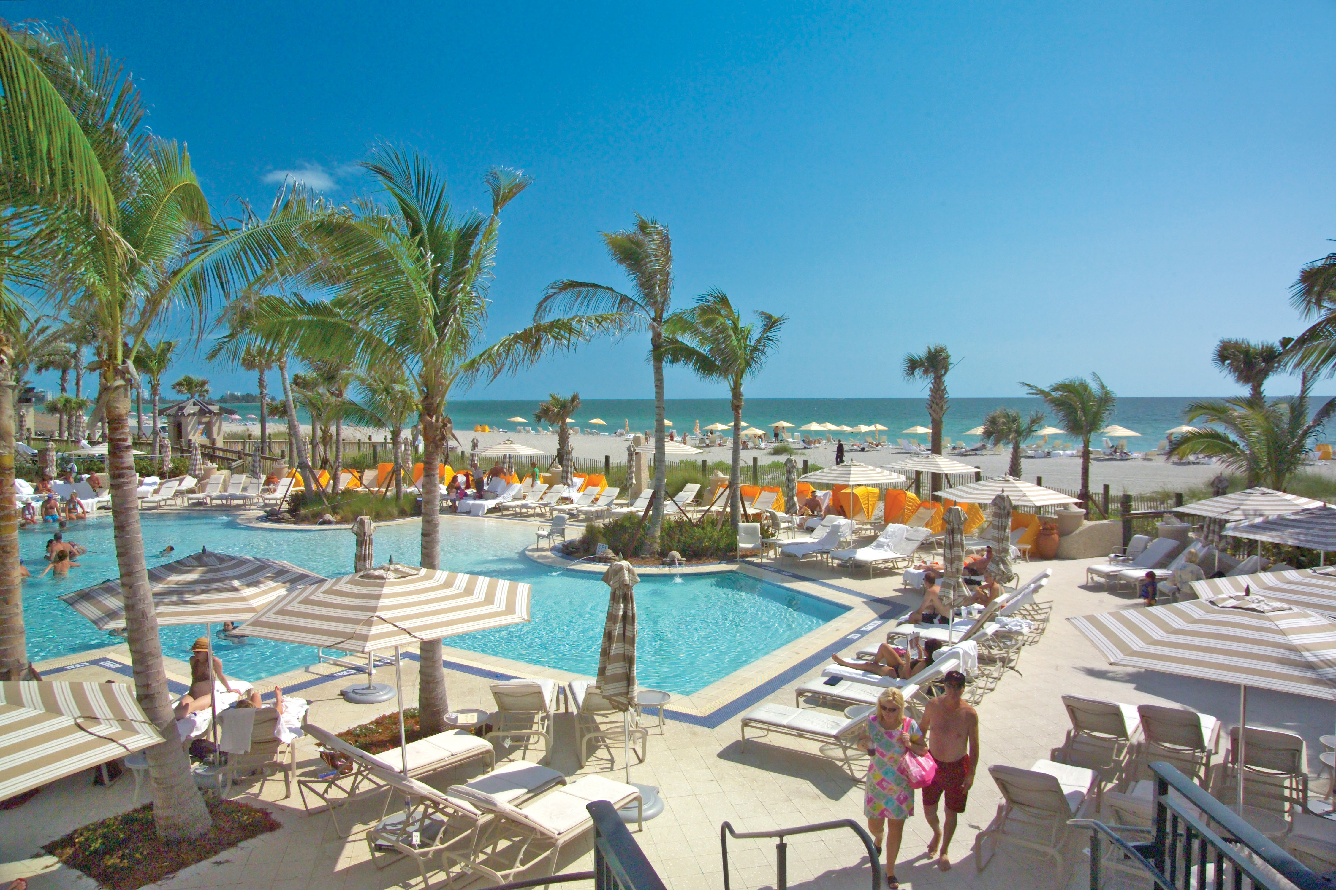 The Ritz Carlton Members Club Grants You Access To Private Beach